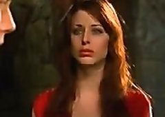Sexy Blue-Eyed Dark Brown Diane Neal Looking Really Sex Appeal As a Vampire
