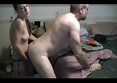 Chic Fists & Sticks Monster Cock Up Older Guys Butt