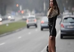 hooker forever!! Moving my tooshie in public on the street