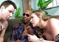 Sexual busty wife inseminated in front of cuckold