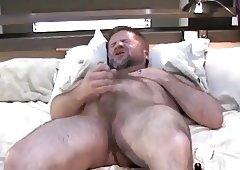 Stroking Daddy Bear 1