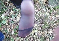 cum on grown-up nylon soles 2
