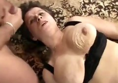 GERMAN MATURE DRILLED & FISTED BY THREE GUYS