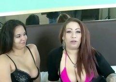 latina slut poison is munching cookie