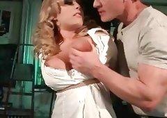 Busty slavegirl Jessica Moore getting banged