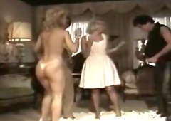 Nina Hartley, Lynx Canon, Jamie Gillis in classic Totally Hardcore video